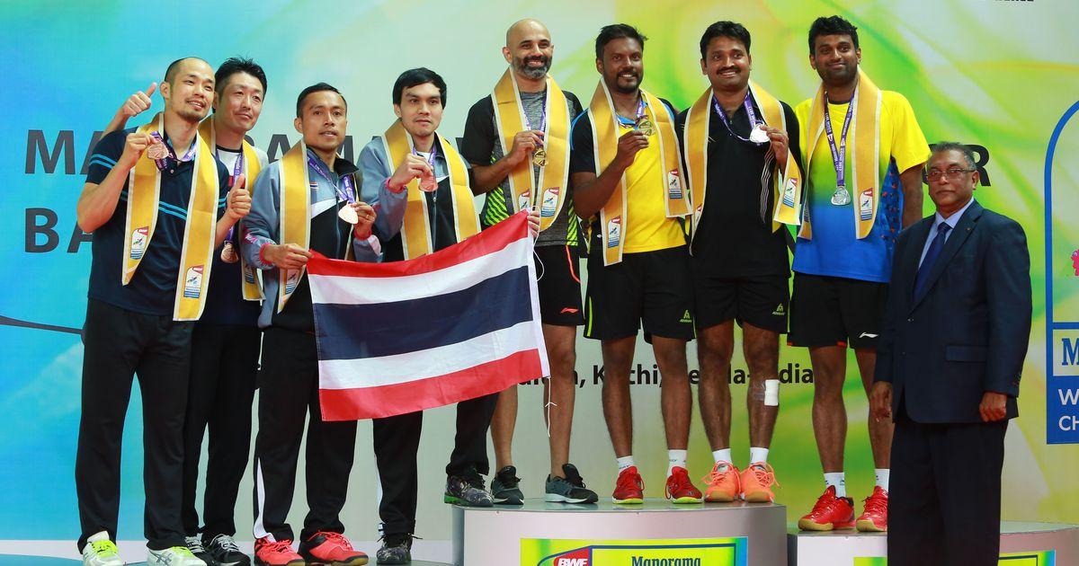 Sanave-Rupesh beat Diju-Vidyadhar to win gold at BWF World Senior Badminton Championships