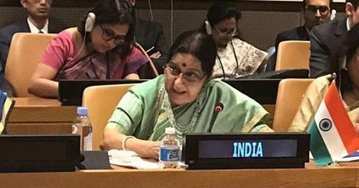 'Now you vote for us': Sushma Swaraj's reply to tweet on India's UN vote on Jerusalem sparks row