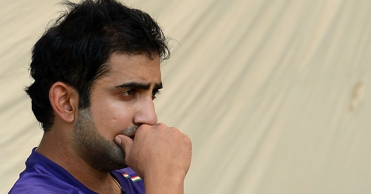 Didn't pick up a bat for 2 months after not getting selected for 2007 World Cup: Gautam Gambhir