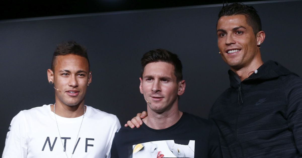 Messi ahead of Ronaldo and Neymar in world's best-paid footballers list, says study