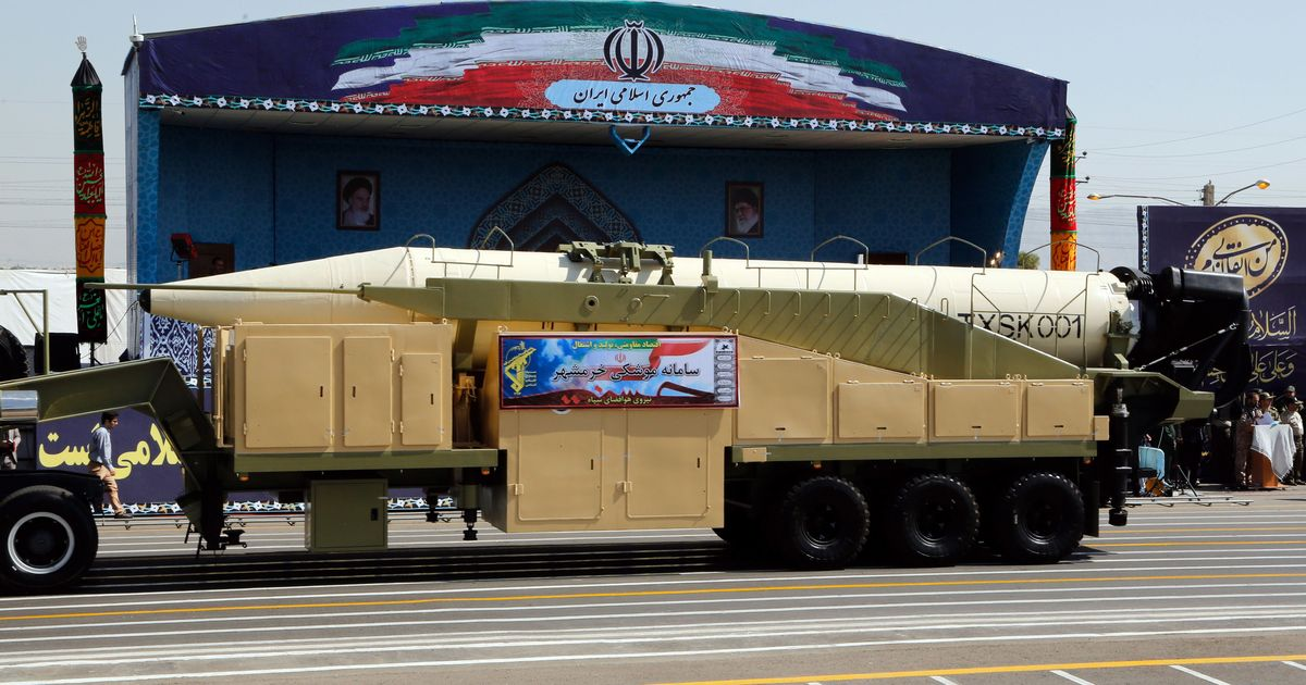 Iran tests missile despite Trump pressure