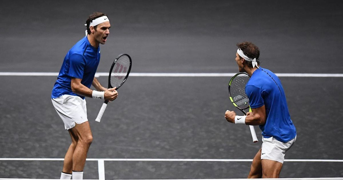 Laver Cup: Roger Federer and Rafael Nadal power Team Europe to 9-3 lead over Team World