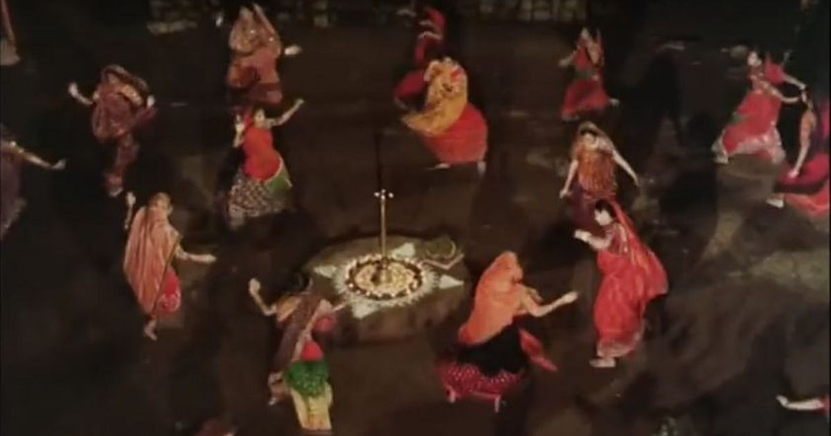 Picture the song: No dandiya sticks, no disco beats in 'Mirch Masala' garba dance