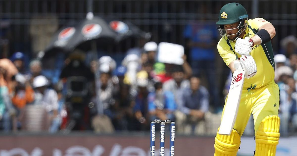 Form Aussie Finch ruled out of fourth ODI against England