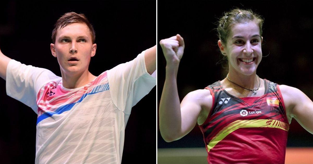 Watch highlights: Viktor Axelsen, Carolina Marin win singles titles at Thailand Open badminton
