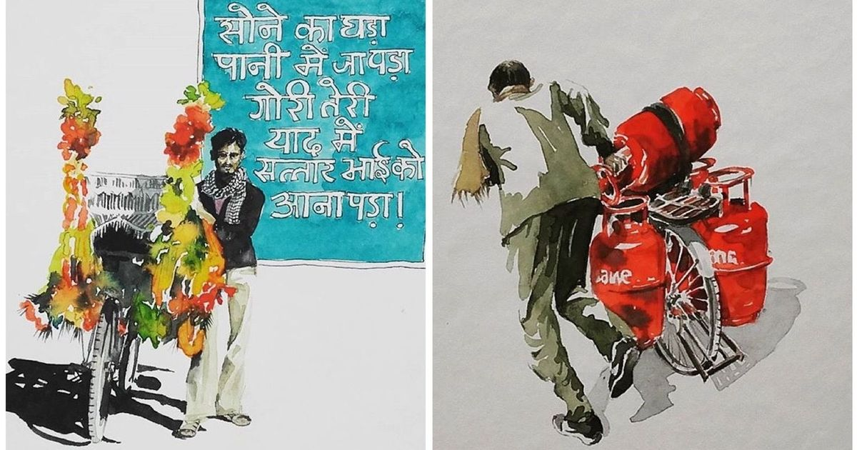 An artist in Germany wants Europeans to understand India's love for cycling