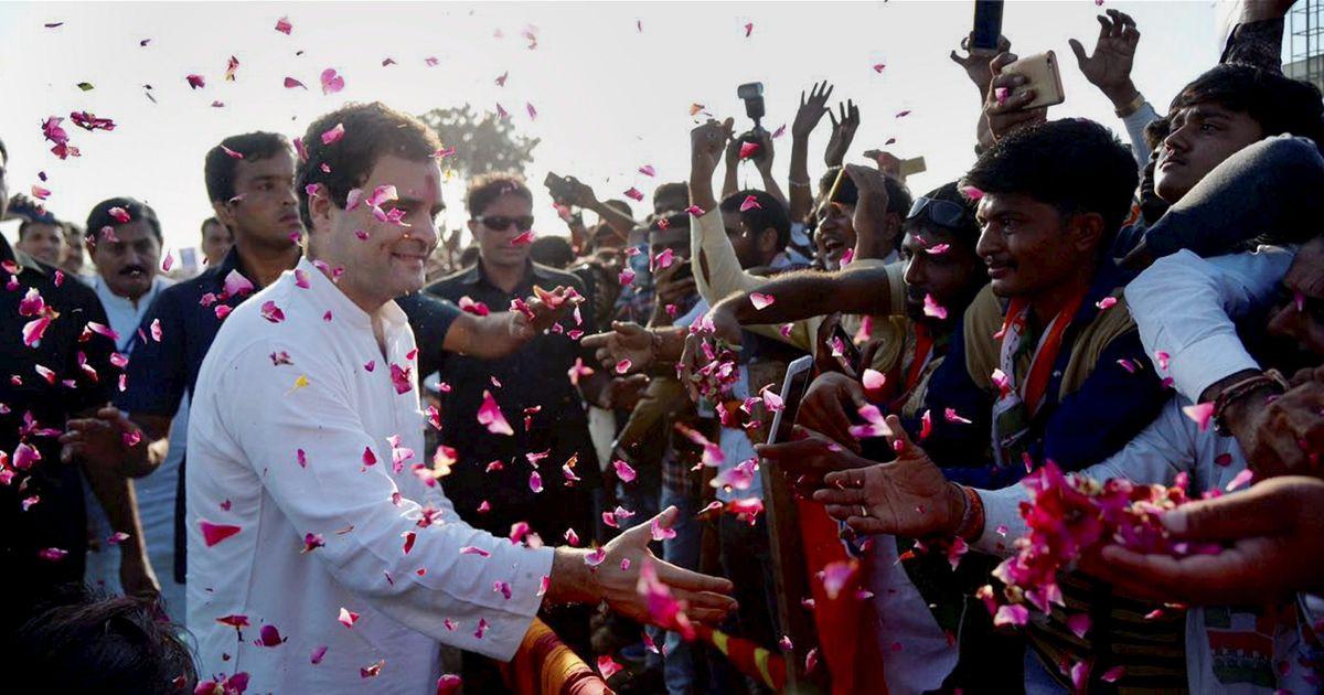 Rahul Gandhi win from Amethi
