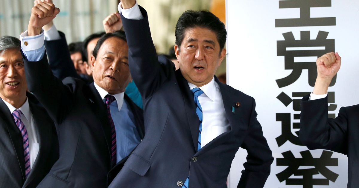 Abe Foes Unite, Threatening His Rule in Japan