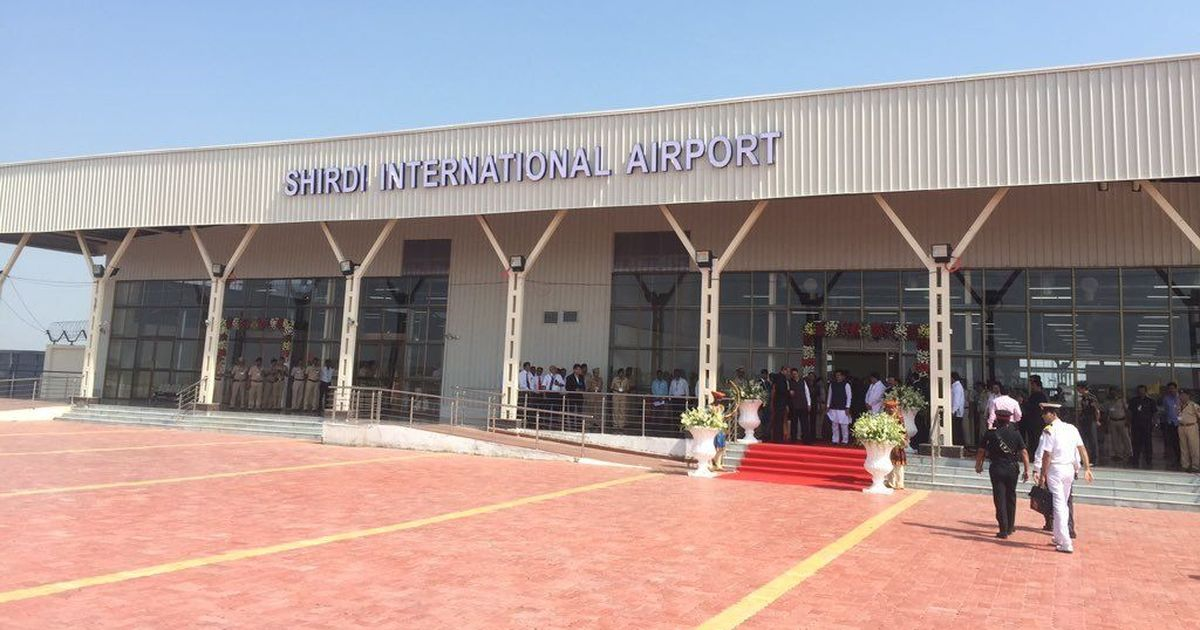 President inaugurated the newly-built airport at Shirdi in Maharashtra