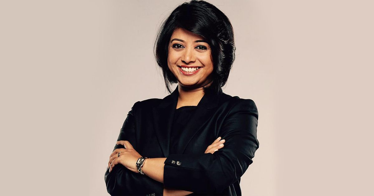 How Faye D'Souza became the rising star of Indian TV news, without yelling or finger-wagging