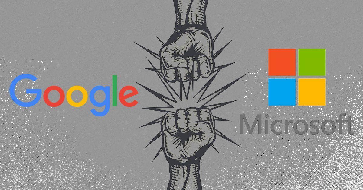 माइक्रोसॉफ्ट और गूगल की यह जंग प्यादे से वजीर के पिटने की कहानी भी है