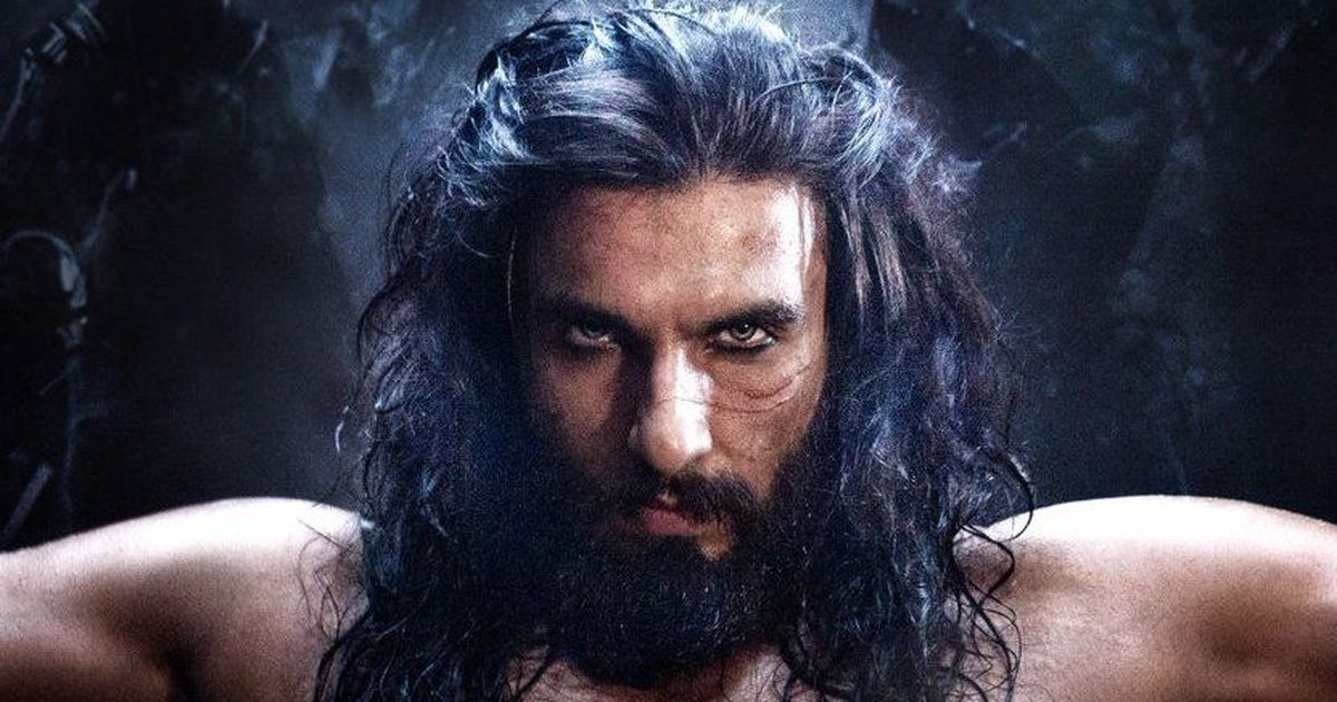 Ranveer Singh out as Alauddin Khilji of Padmavati