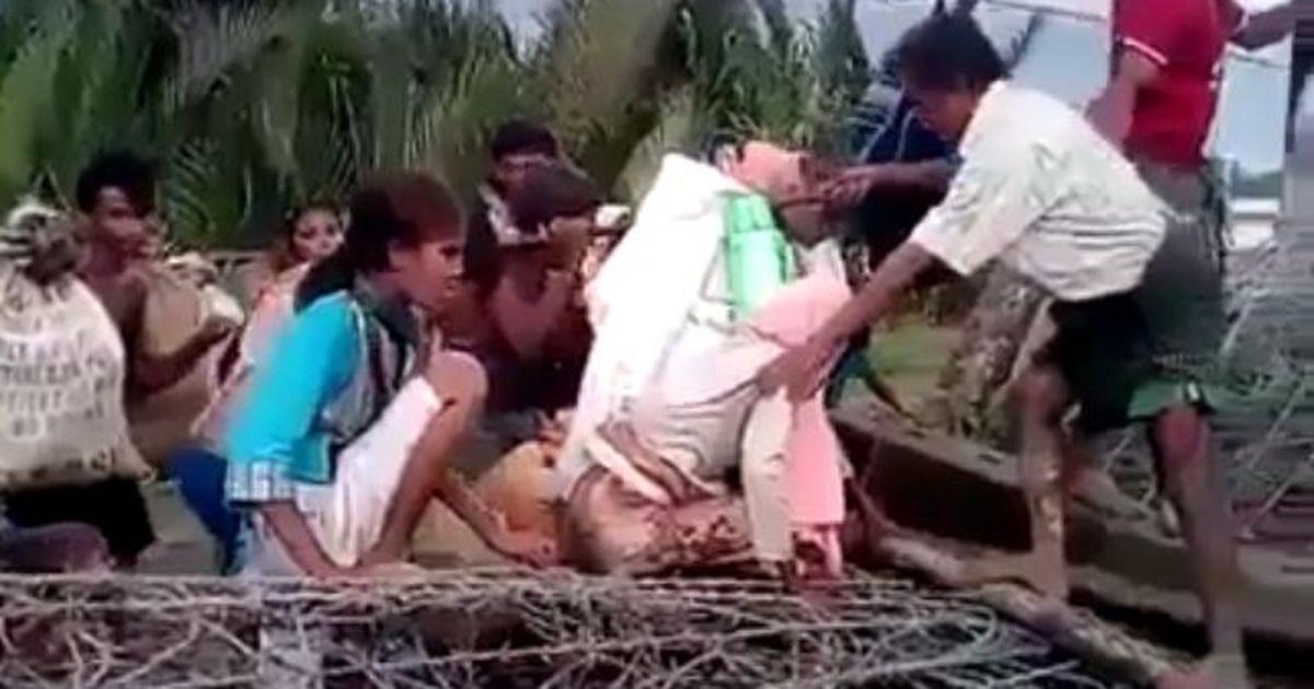क्यों 'भारतीय सीमा में घुस रहे रोहिंग्या मुसलमानों' के इस वीडियो पर संदेह होता है