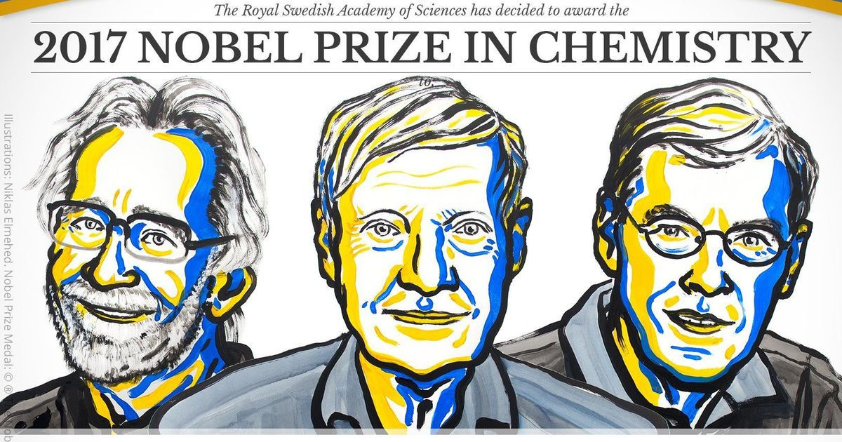 Nobel Prize in chemistry awarded for cryo-electron microscopy