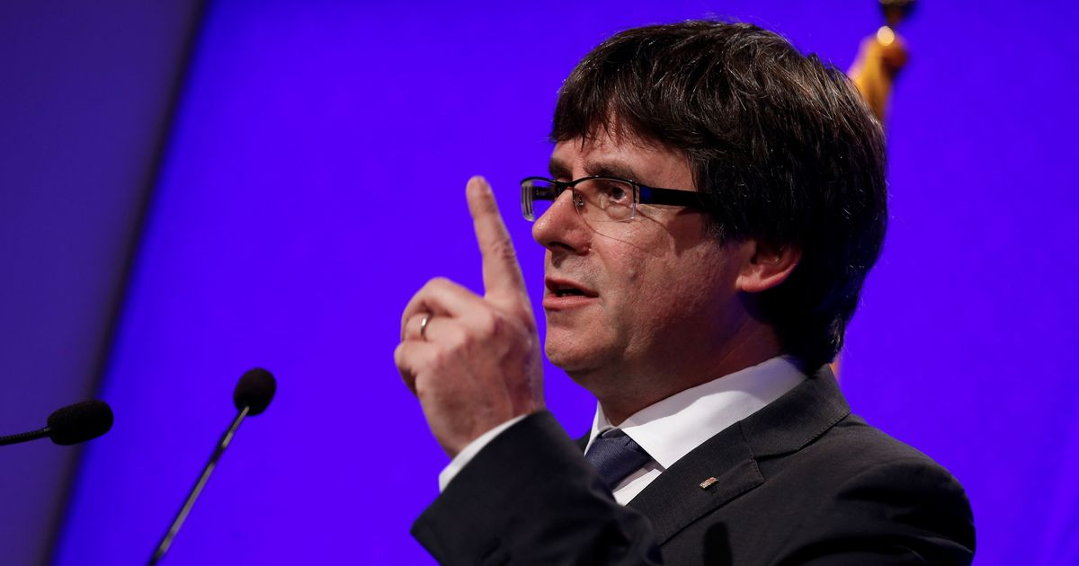 Catalonia will declare independence from Spain in a few days says its leader Carles Puigdemont