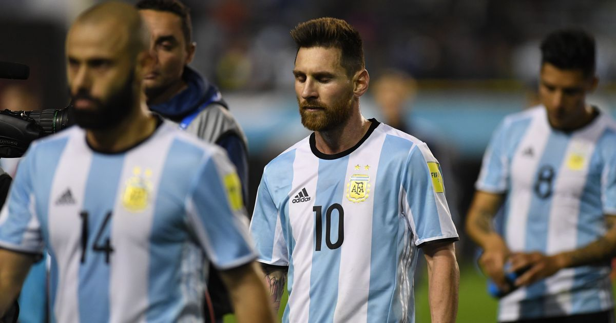 8166bf82f No Messi at Russia 2018? Argentina's World Cup hopes left hanging after  another draw