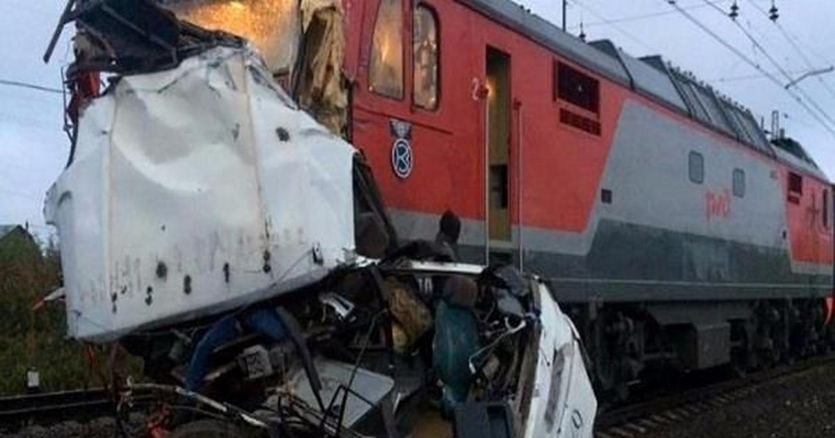 रूस : बस ट्रेन की चपेट में आई, 19 उज्बेक नागरिकों की मौत