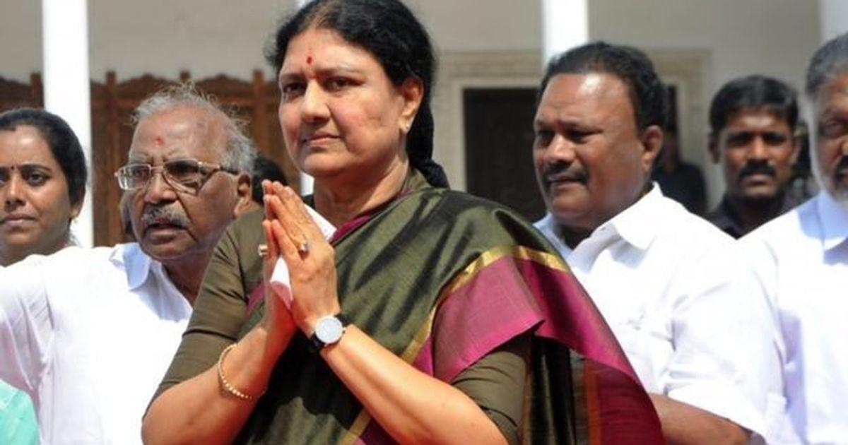 बीमार पति को देखने के लिए अन्नाद्रमुक नेता शशिकला पांच दिनों के पेरोल पर रिहा