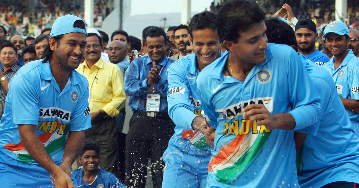 Image result for dhoni and ganguly