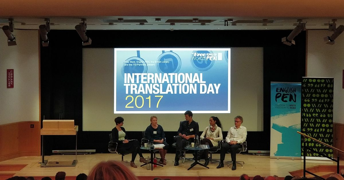 Eight things we learnt about translation on International Translation Day