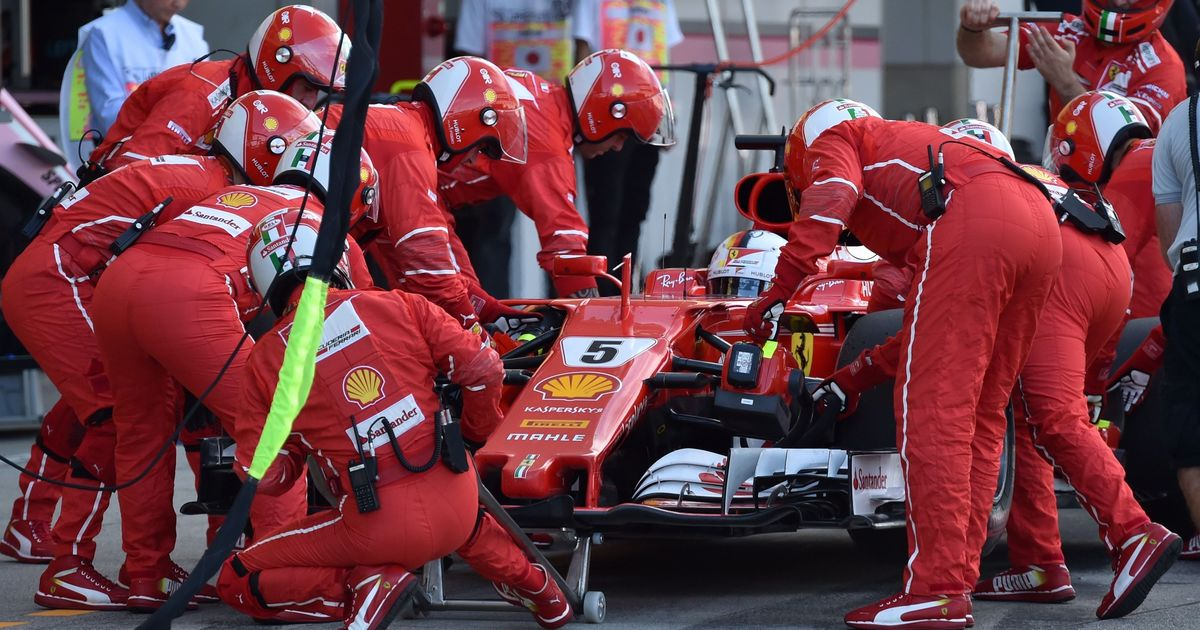 How many Ferrari mechanics does it take to change a spark plug? Talking points from Japanese GP