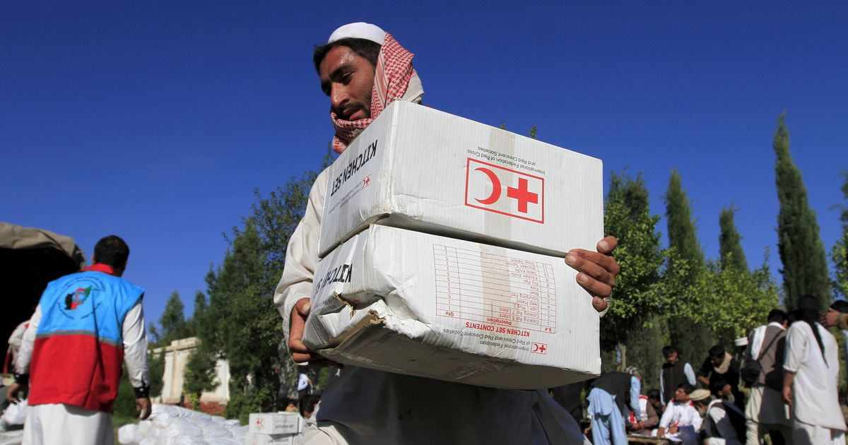 Red Cross reduces presence in Afghanistan