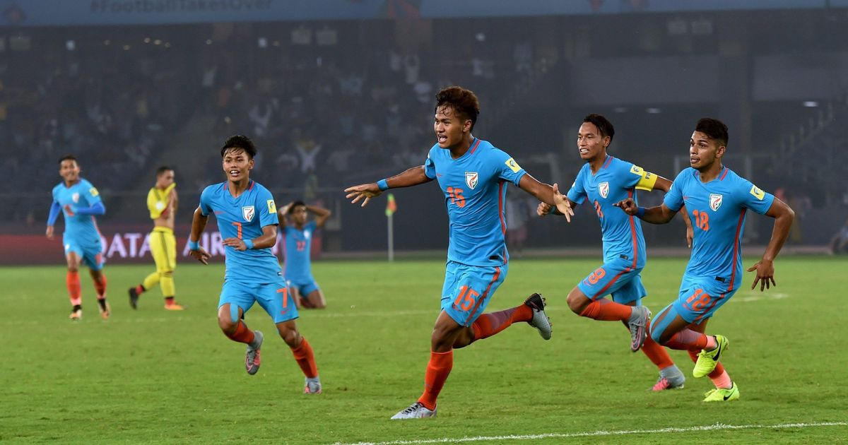 Fifa Under-17 World Cup: Jeakson creates history but India lose 2-1 against Colombia