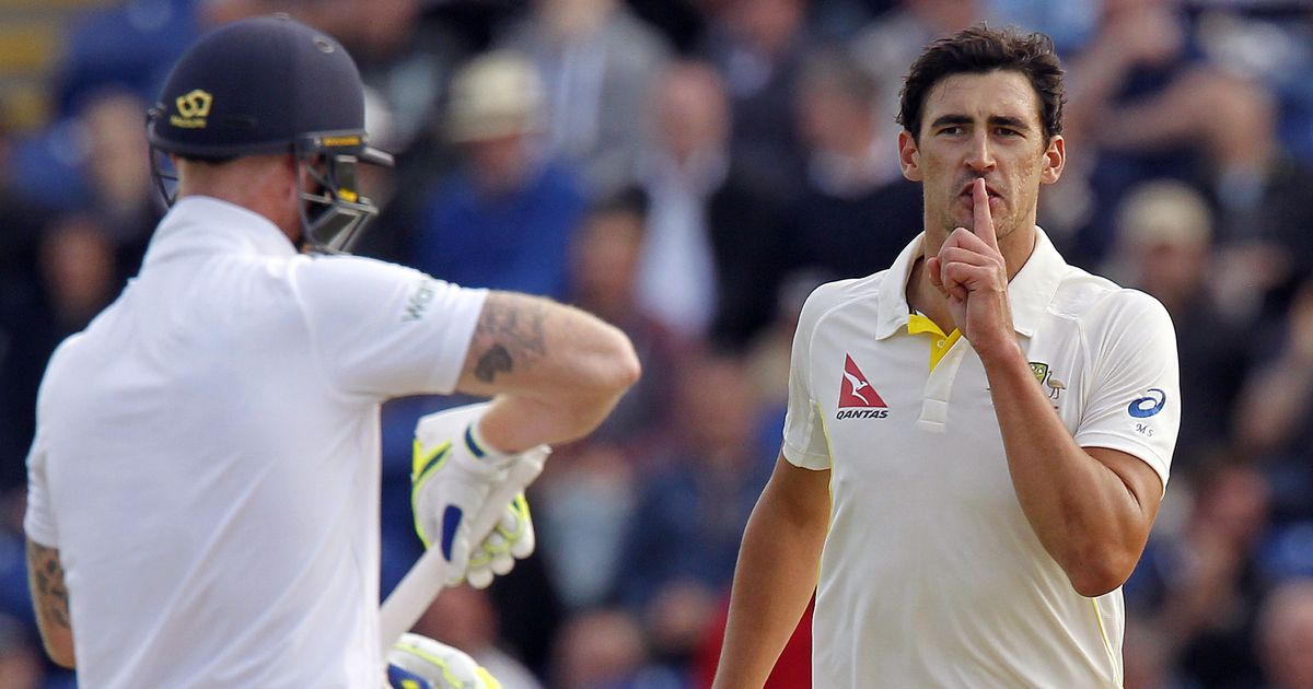 Mitchell Starc wants Australian fans to 'get stuck into' Ben Stokes if he plays the Ashes