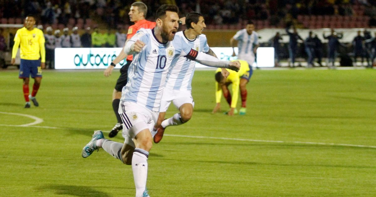 Messi saves Argentina from disaster, nets hat-trick to clinch World Cup spot