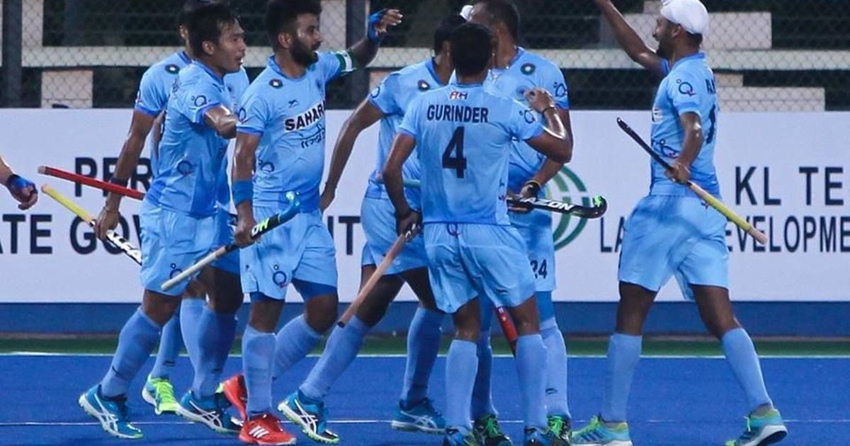India placed alongside Belgium and Canada in Hockey World Cup