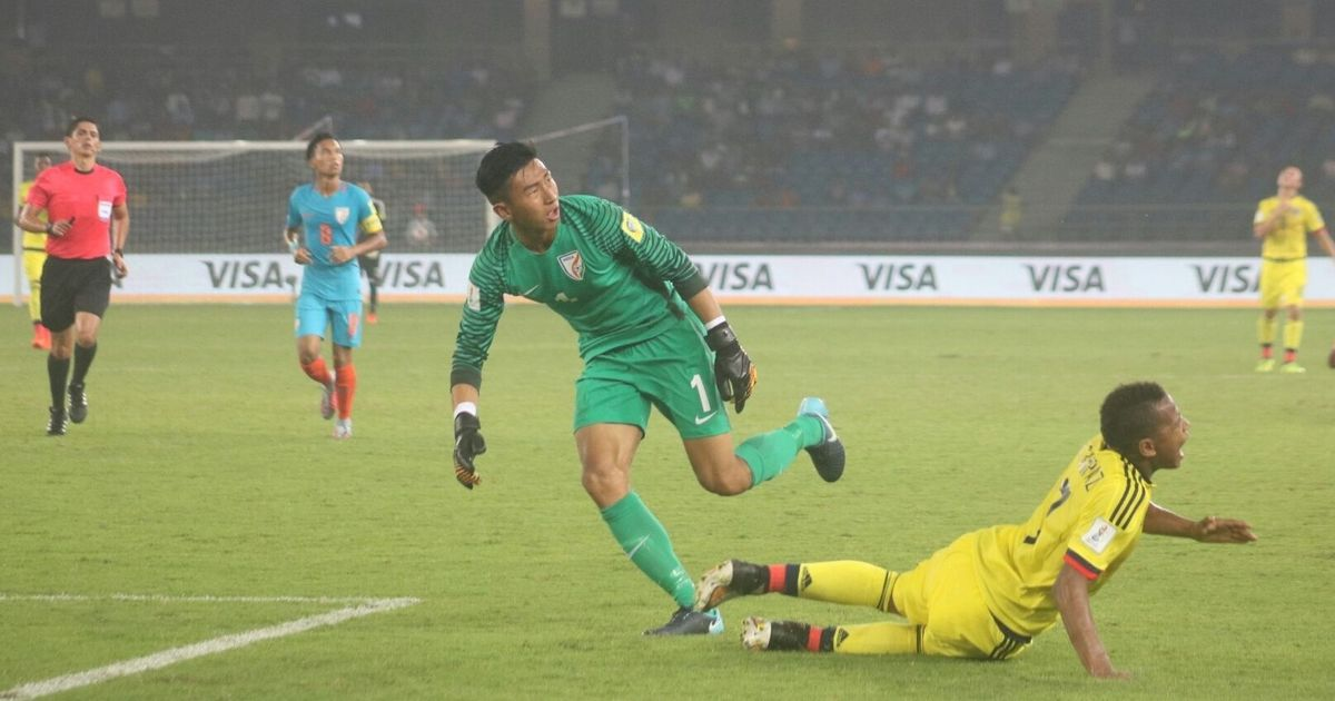 Dheeraj has made heads turn at U-17 World Cup but his parents never wanted him to play football