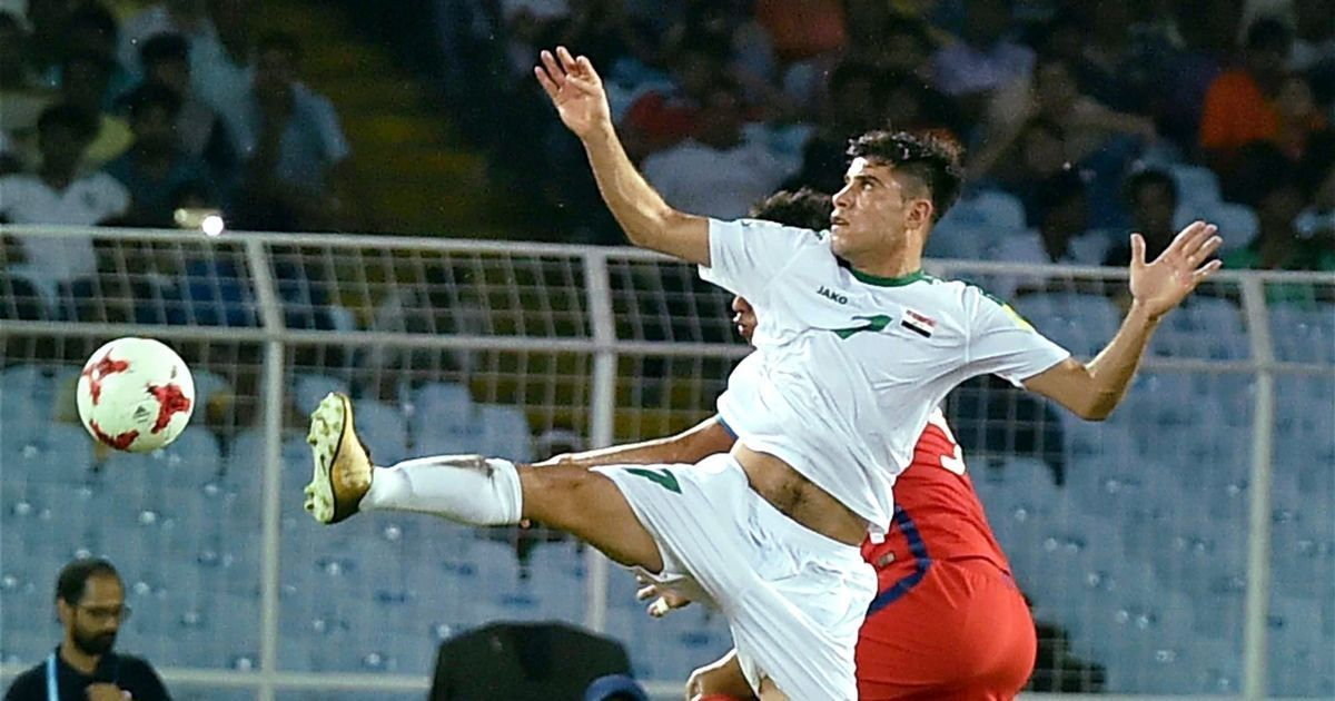 Dawood strikes twice as Iraq beat Chile to notch up first-ever victory in a Fifa U-17 World Cup