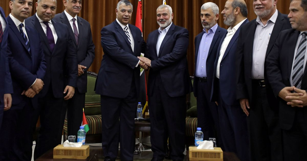Gaza conflict: Hamas says it has reached a deal with Palestinian rival Fatah