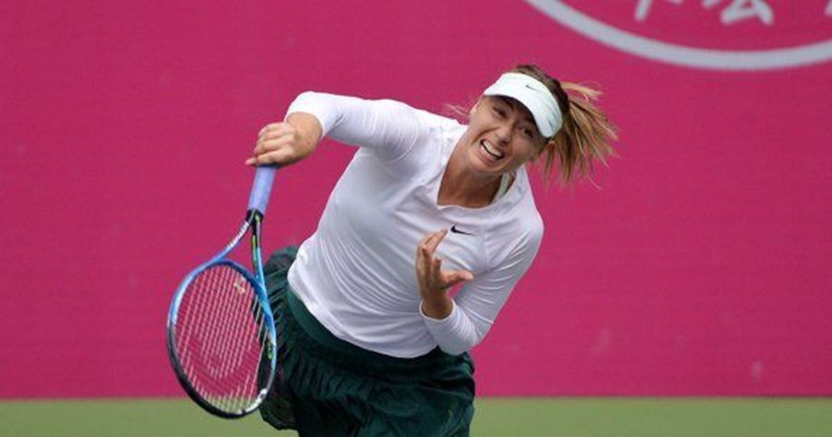 Maria Sharapova powers into Tianjin Open quarter-finals