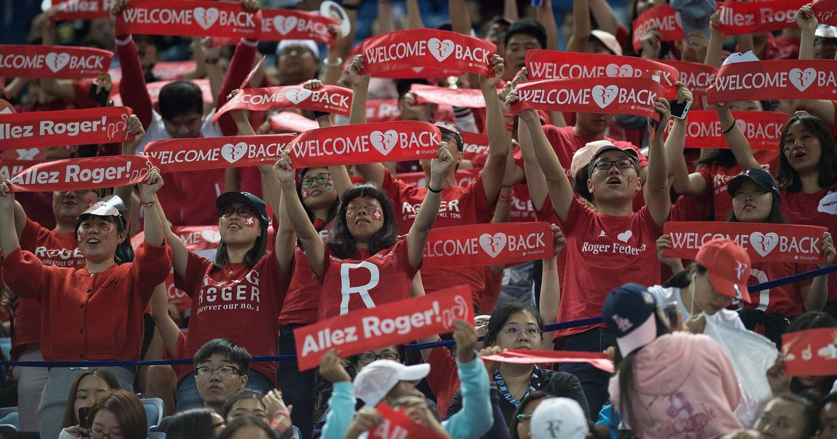 From Goat to 'Cow': Roger Federer milks special bond with Chinese fans