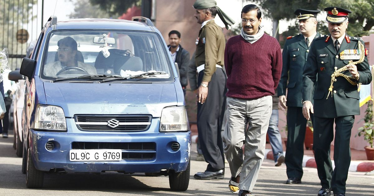 Arvind Kejriwal's car stolen from outside Delhi Secretariat