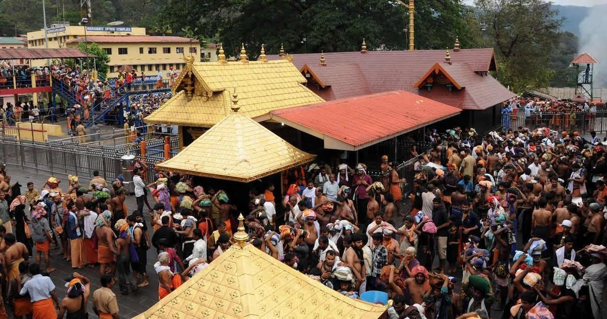 Constitution bench to decide on rule banning women's entry into Kerala's Sabarimala temple