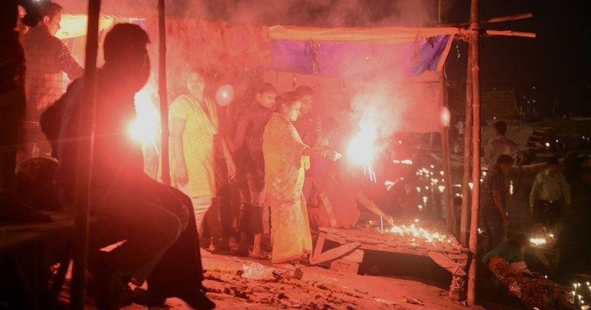 In Punjab and Haryana, people can burst firecrackers from 6.30 pm to 9.30 pm on Diwali