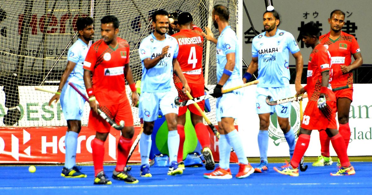 Hockey: India warm up for Pakistan clash with dominant 7-0 win over Bangladesh in Asia Cup