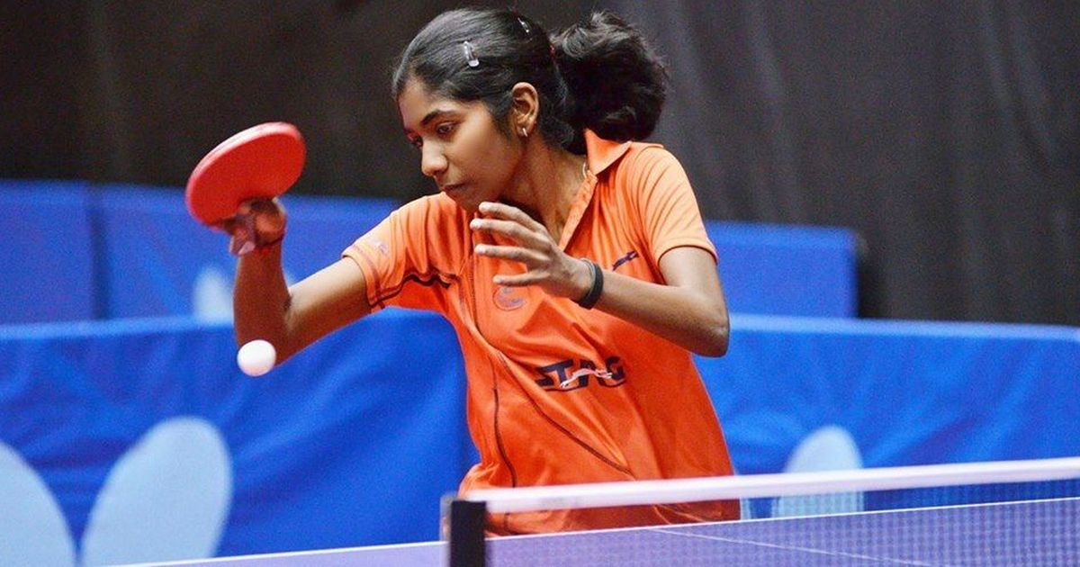 Table Tennis: India's Selena Selvakumar wins gold at Egypt Junior and Cadet Open
