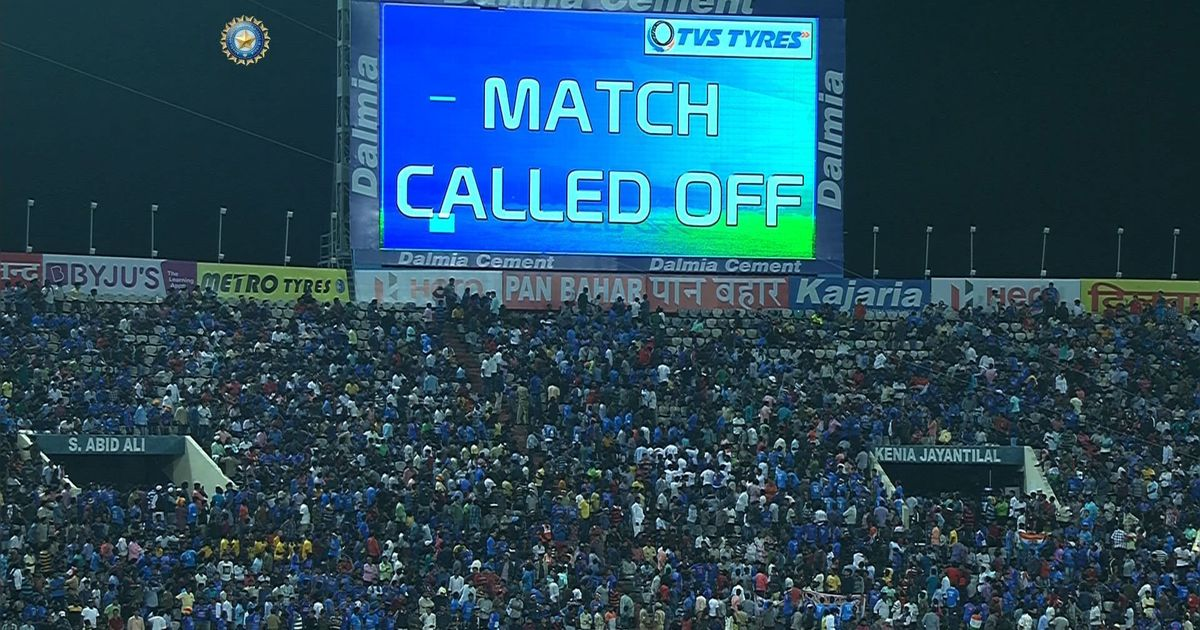 India vs Australia: Series ends 1-1 after final T20I called off due to wet outfield
