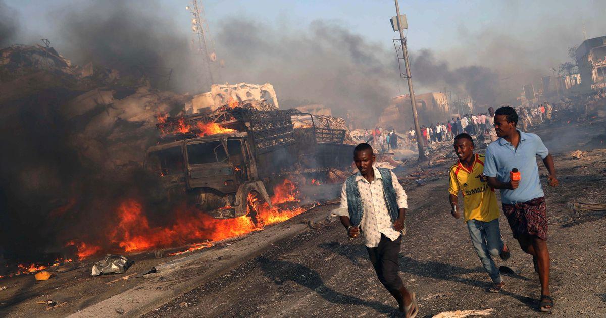 Somalia: At least 189 killed in car explosions in Mogadishu