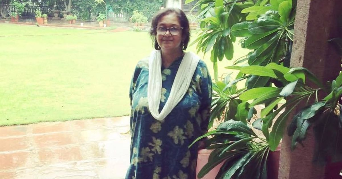 Writer Namita Gokhale gets the first Centenary National Award for Literature from Asam Sahitya Sabha