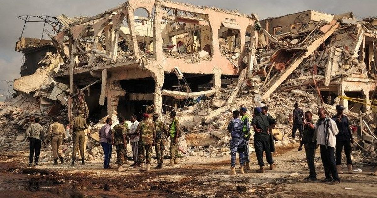 Toll in Somalia's 'deadliest attacks since 2007' rises to 300, hundreds injured