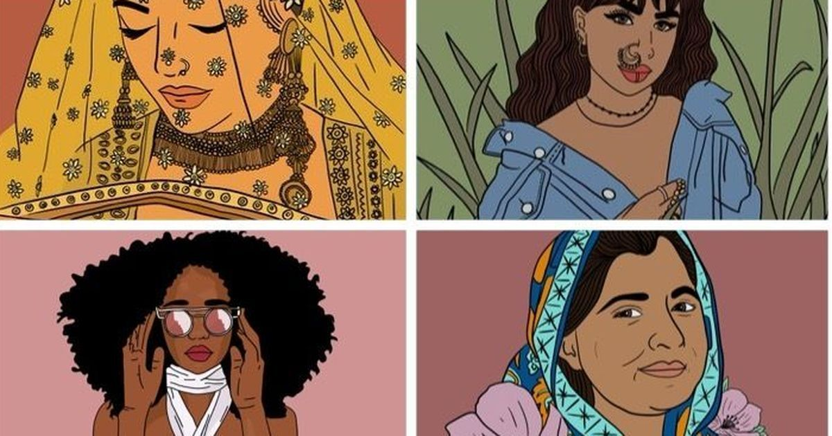 Representing people of colour and folk art, #SouthAsianArtists has Twitter's finest illustrations