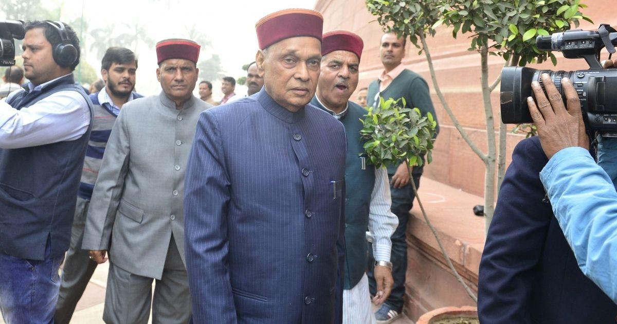 हिमाचल प्रदेश : भाजपा ने मुख्यमंत्री के उम्मीदवार के तौर पर प्रेम कुमार धूमल का नाम आगे बढ़ाया