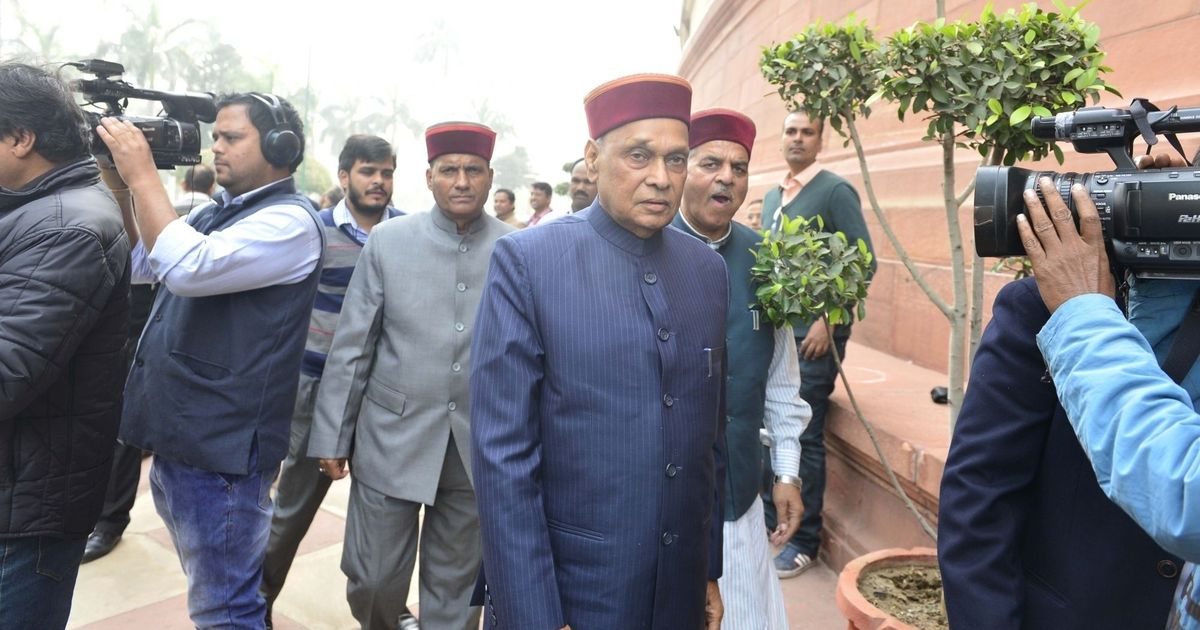 Dhumal, state chief in BJP list of candidates for Himachal Pradesh