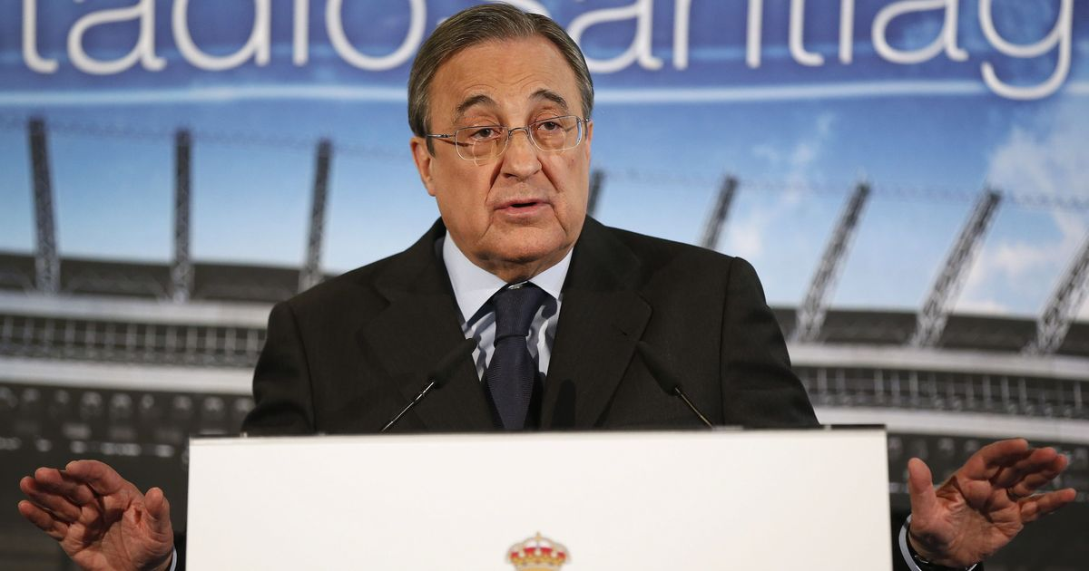 La Liga: Florentino Perez re-elected as Real Madrid president, set for sixth term at the helm
