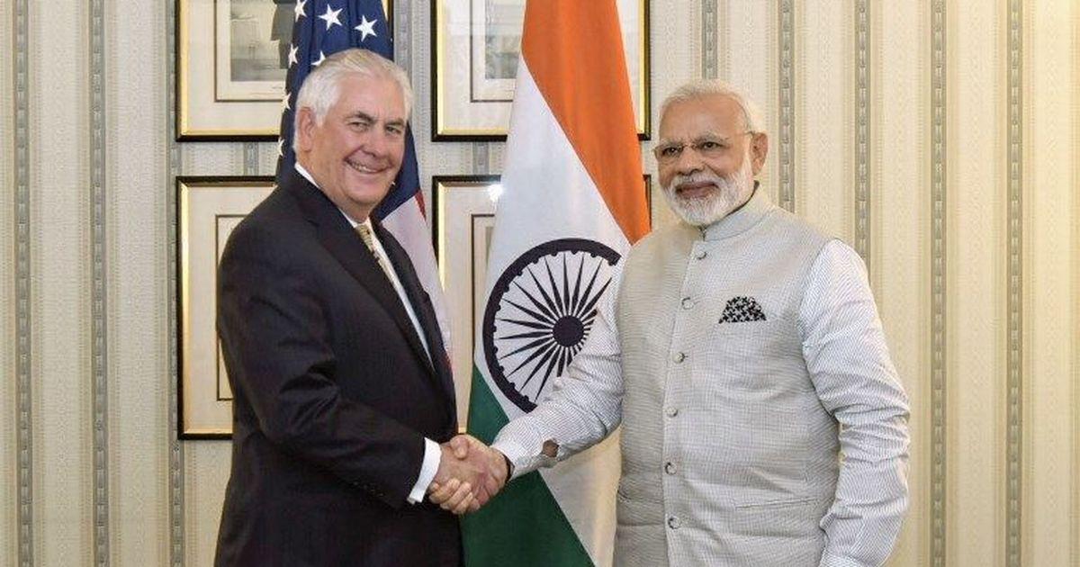 अमेरिका भारत के साथ अपने दोस्ताना रिश्ते को अगले 100 सालों तक जारी रखना चाहता है : रेक्स टिलरसन