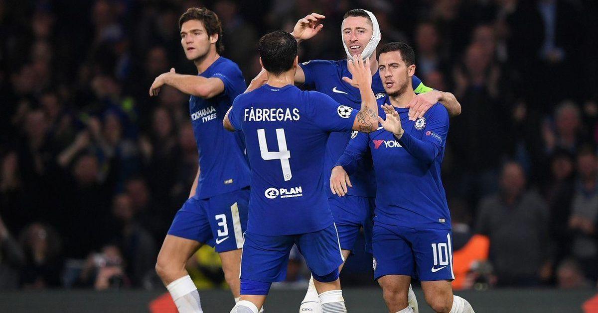 Eden Hazard rescues point for struggling Chelsea in six-goal thriller against Roma